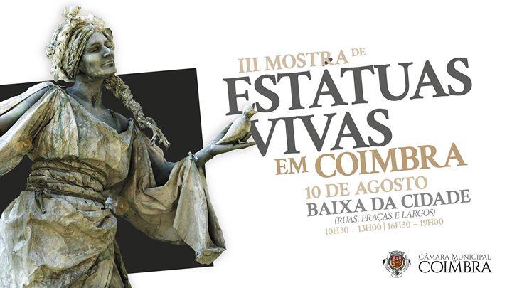 III Mostra de Estátuas Vivas em Coimbra