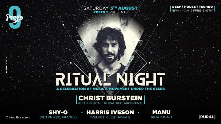 Ritual Night : w/ Christ Burstein + more