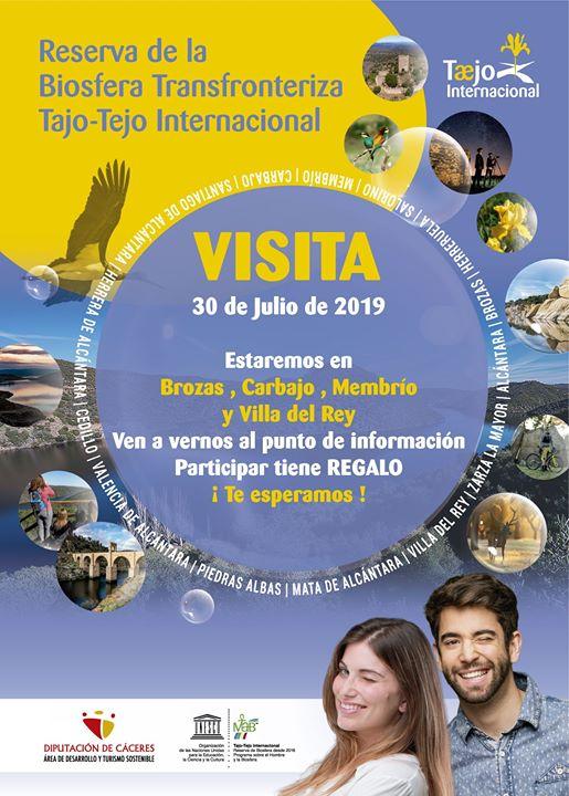 Visita a Brozas, Villa del Rey, Membrío y Carbajo