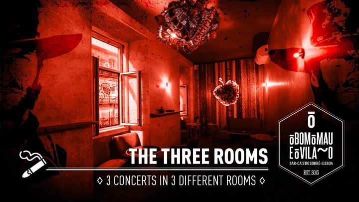 The Three Rooms | 3 Concerts in 3 Different Rooms
