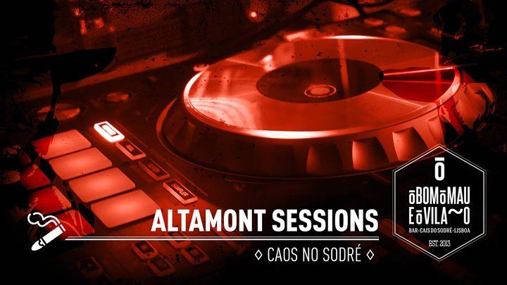 Altamont Sessions | Caos no Sodré