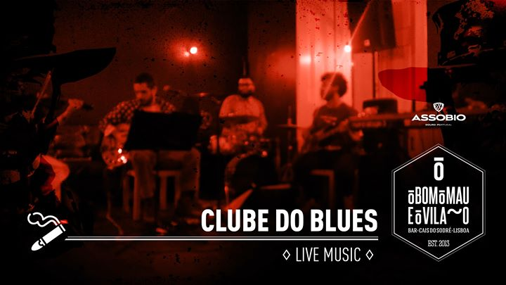 Clube do Blues #7 | Live Music