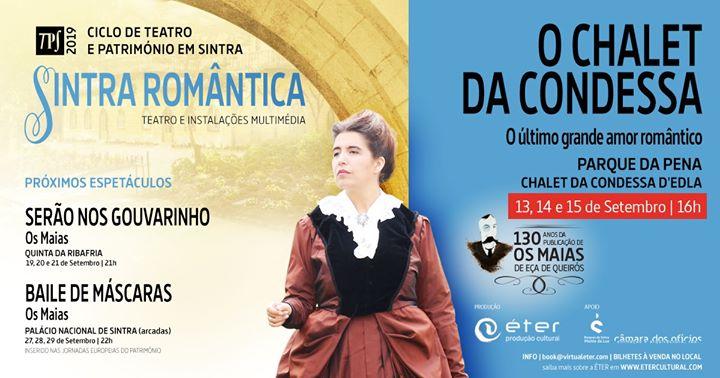 TPS 2019 'Chalet da Condessa - O último amor romântico'