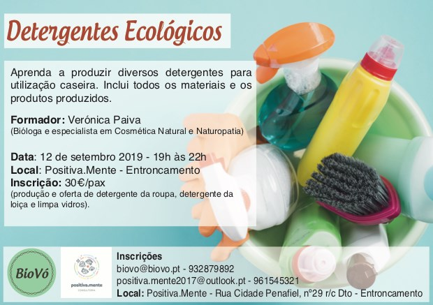 Workshop Detergentes Ecológicos