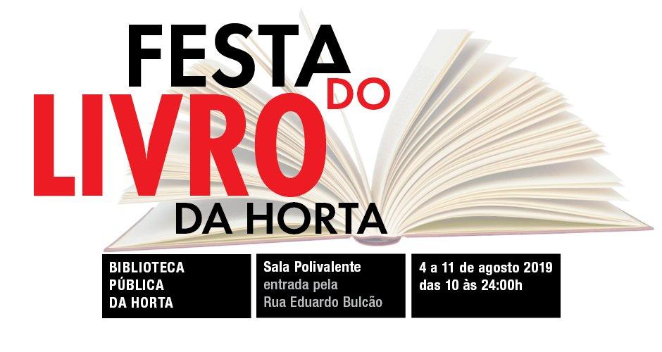 Festa do Livro da Horta 2019