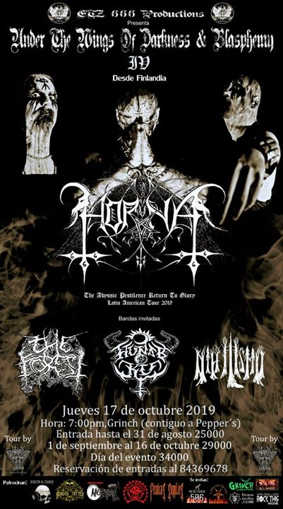 Under The Wings of Darkness & Blasphemy lV