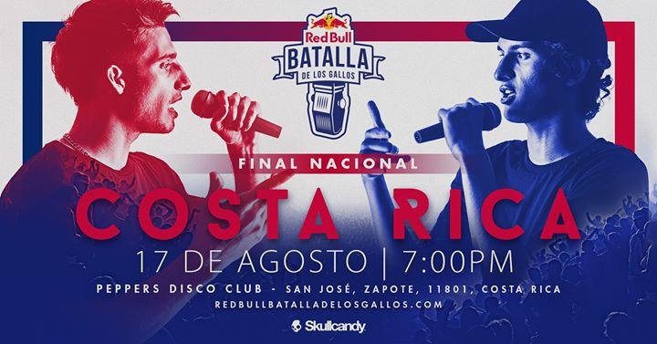 Red Bull Batalla de los Gallos Costa Rica 2019