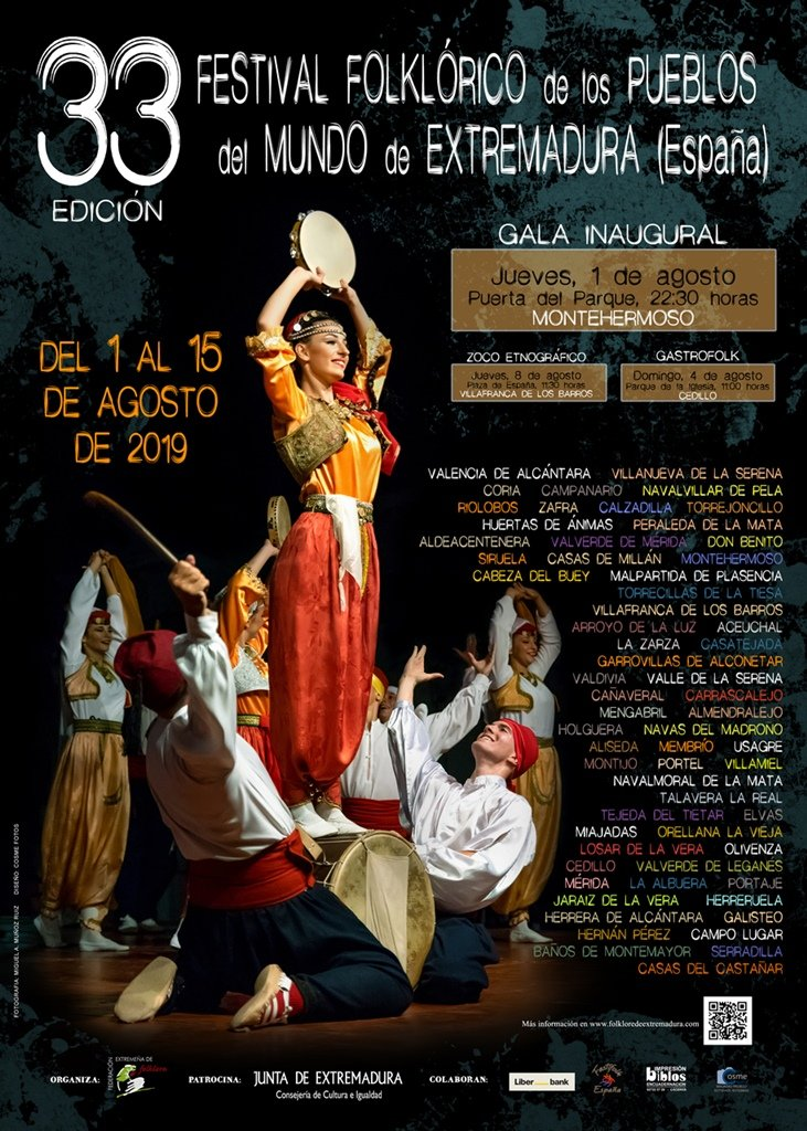 33º Festival Folklórico de los Pueblos del Mundo de Extremadura