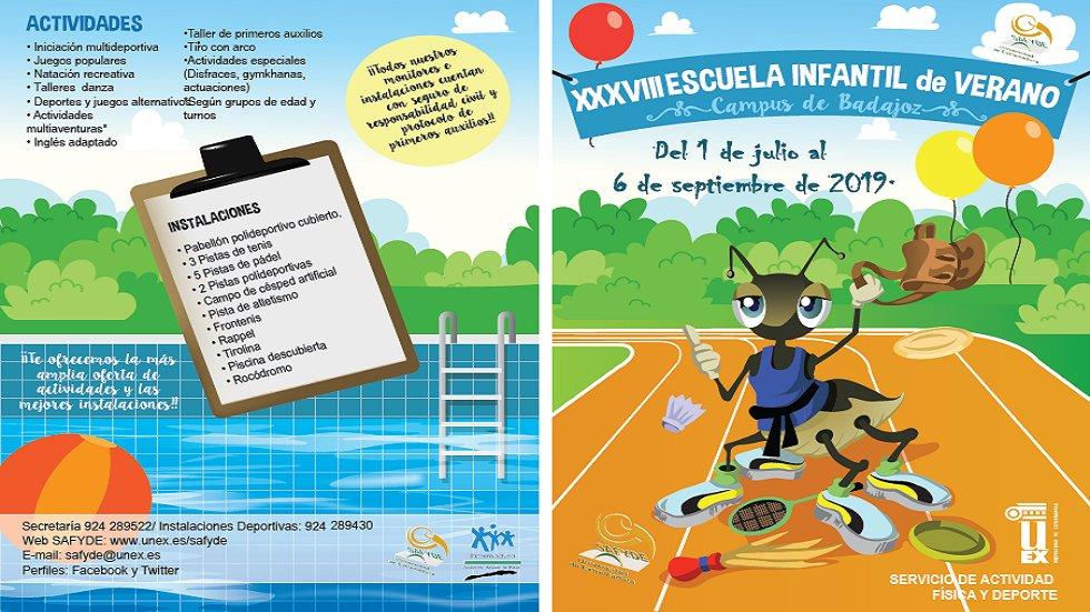 XXXVIII Escuela Infantil de Verano - Universidad de Extremadura