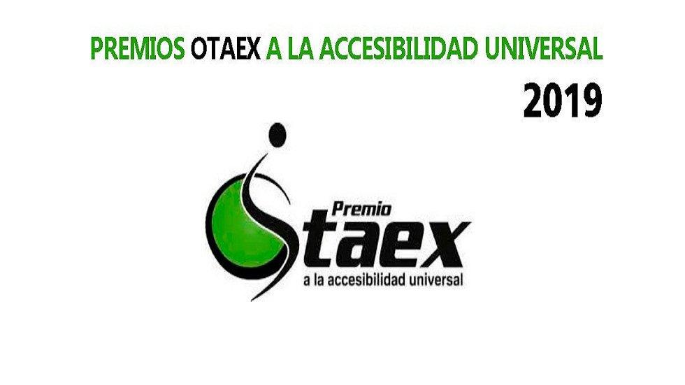 Premios OTAEX a la accesibilidad universal 2019