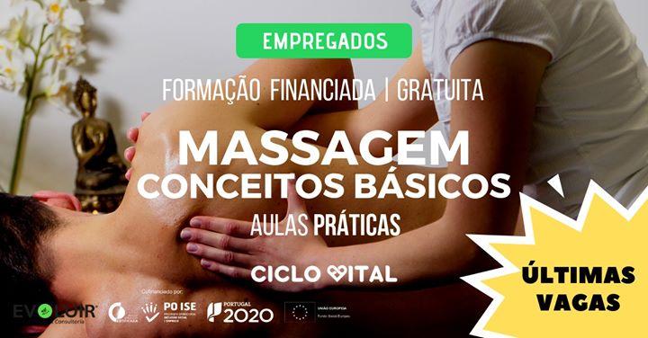 Formação Gratuita - Massagem