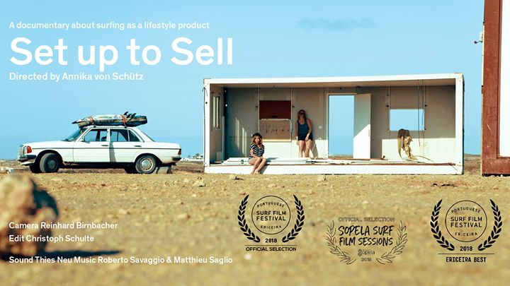 "Documentário ""Set up to Sell – Surfing as a lifestyle product"""