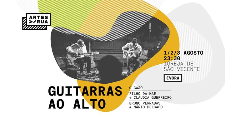 Guitarras ao Alto | Artes à Rua