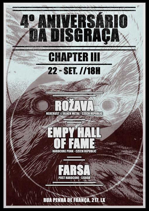 Rožava & Empty Hall of Fame & Farsa