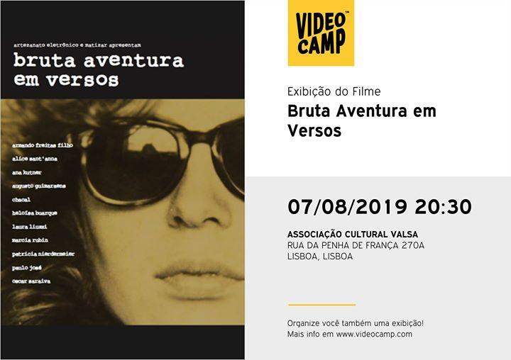 Cinevalsa | bruta aventura em versos