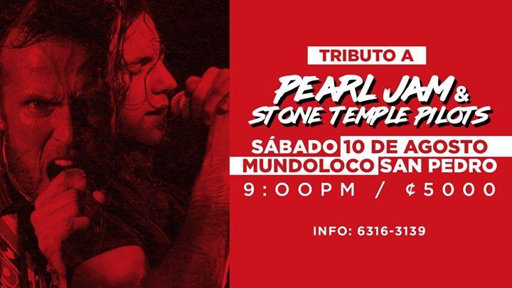 Tributo: Pearl Jam & Stone Temple Pilots Mundoloco