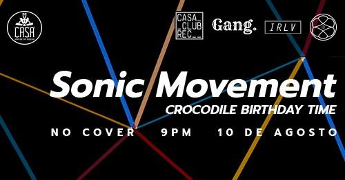 Sonic Movement: Crocodile Birthday Time