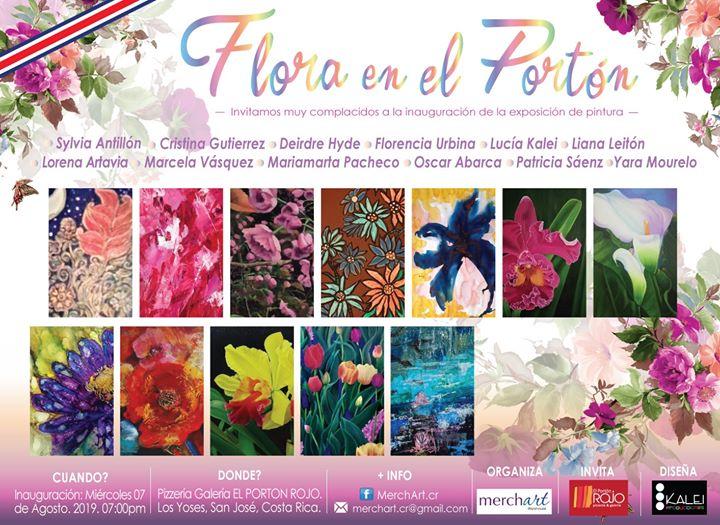 """Exposición Colectiva: """"Flora en el Portón""""."""