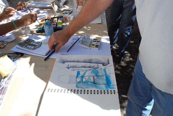 Diário Gráfico   Workshop de Desenho