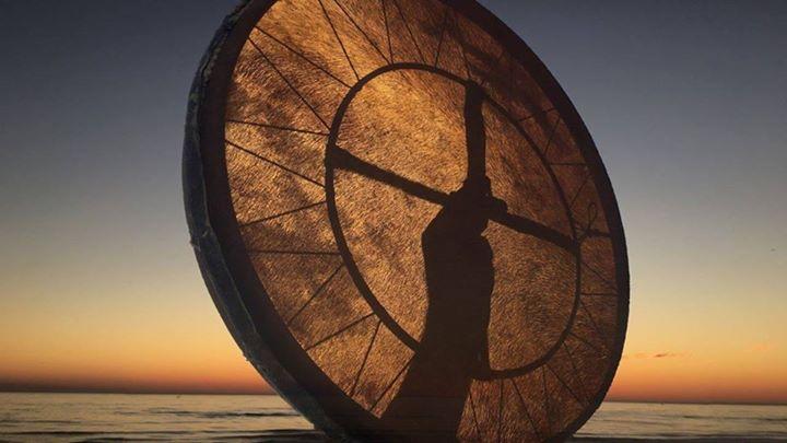 Roda de Cura Xamanica - Ao ar livre - Algoz