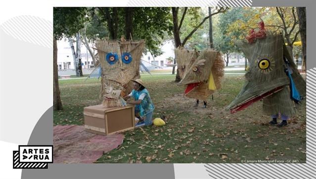 """""""Há Passarulhos no Parque"""" Teatro de Rua"""