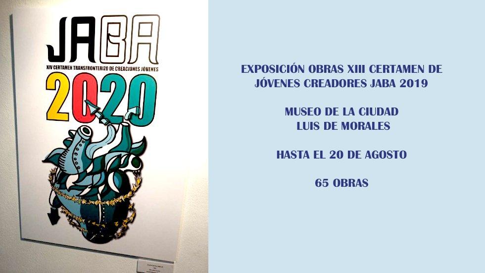 Exposición Obras de la XIII edición del Certamen de Jóvenes Creadores JABA 2019