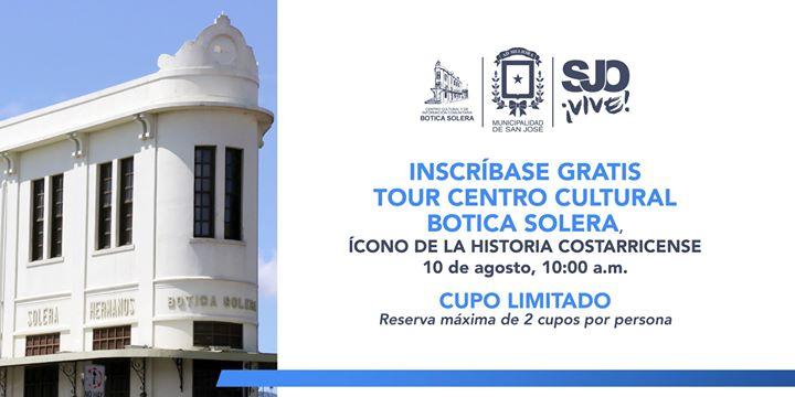 Tour Gratuito Centro Cultural Botica Solera