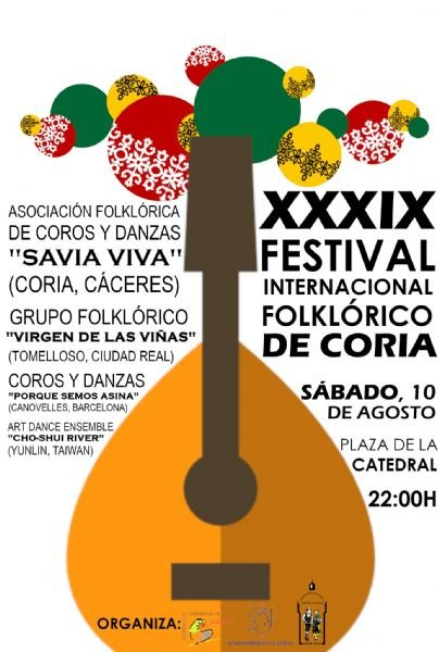 XXXIX Festival Internacional Folklórico de Coria