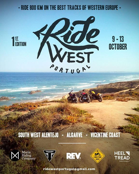 Ride West 1st Edition
