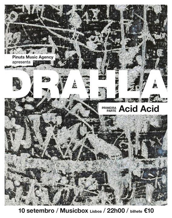 Drahla + Acid Acid [Opening Act]