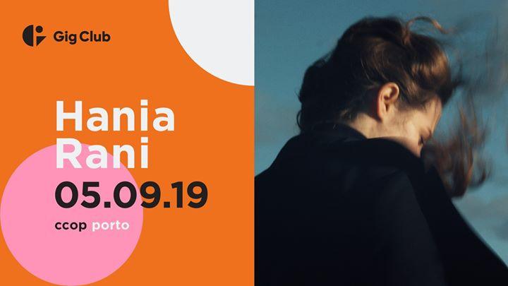 Hania Rani | Gig Club Porto