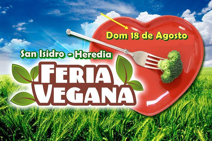 Feria Vegana de San Isidro de Heredia - 36° Edic.