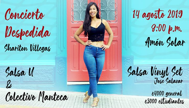 Salsa U & Colectivo Manteca, despedida de Sharon Villegas