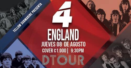 DTOUR 4 England