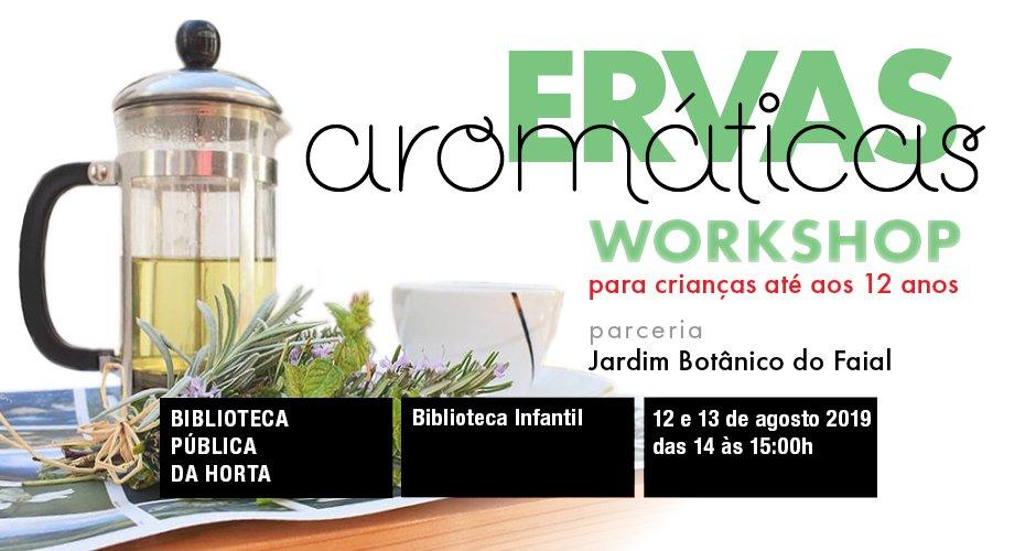 Workshop sobre Ervas Aromáticas