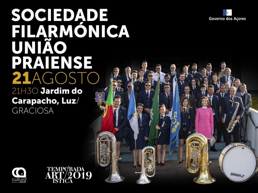 Temporada Artística 2019: Sociedade Filarmónica União Praiense