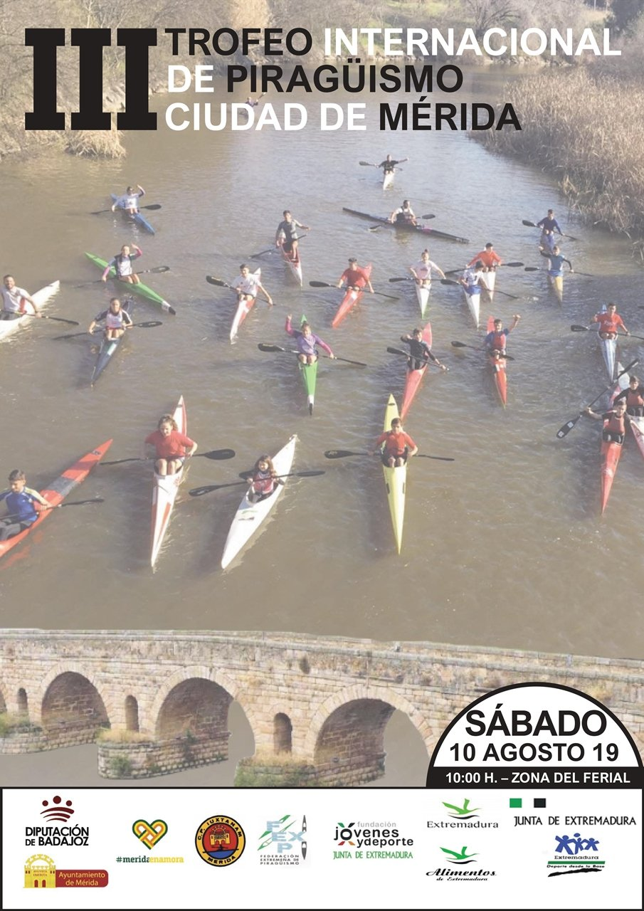III Trofeo Internacional de Piragüismo Ciudad de Mérida