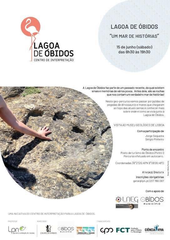Um Mar de Histórias  Lagoa de Óbidos