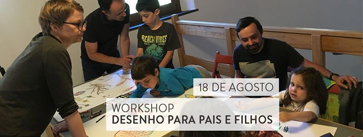 Workshop desenho para pais e filhos