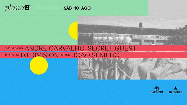 André Carvalho + Secret Guest