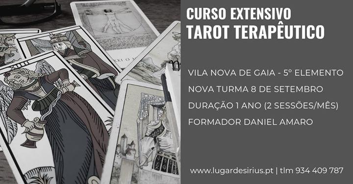 Curso Extensivo de Tarot Terapêutico