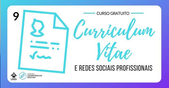 Curriculum Vitae na Internet e redes sociais profissionais