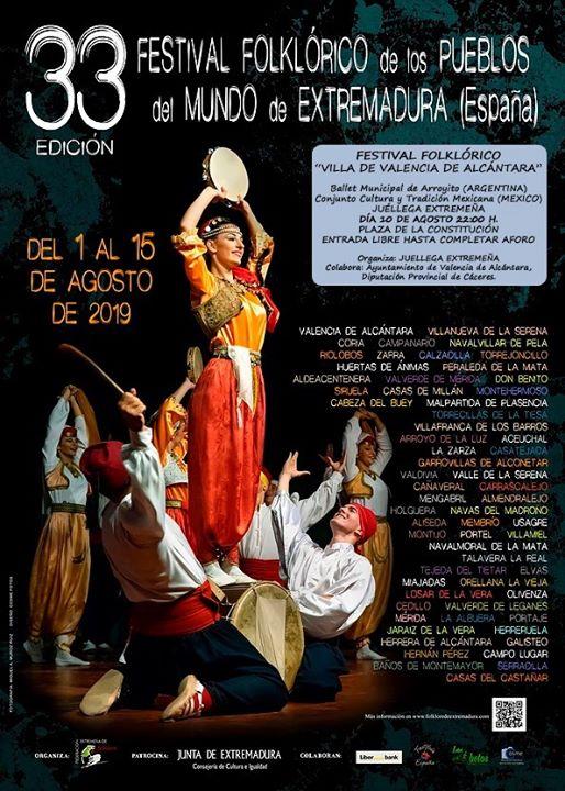 Festival Folklórico Villa de Valencia de Alcántara
