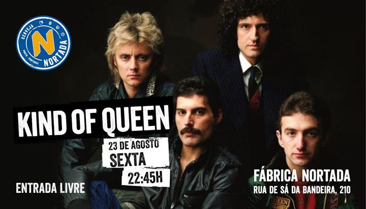 A Kind of Queen (Tributo a Queen) - Fábrica Nortada