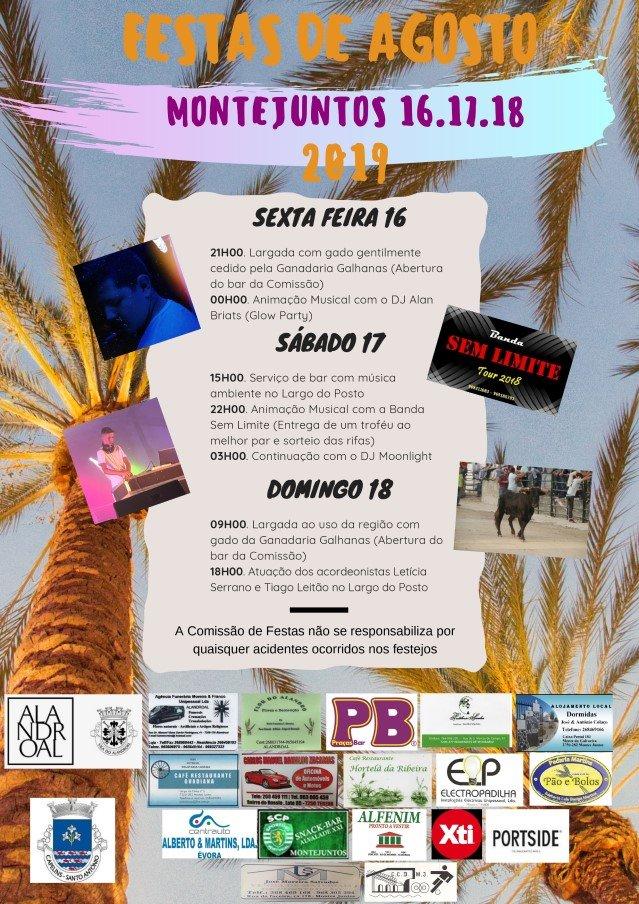 Festas de agosto - montejuntos