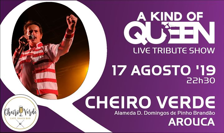 Tributo a Queen | Cheiro Verde - Arouca
