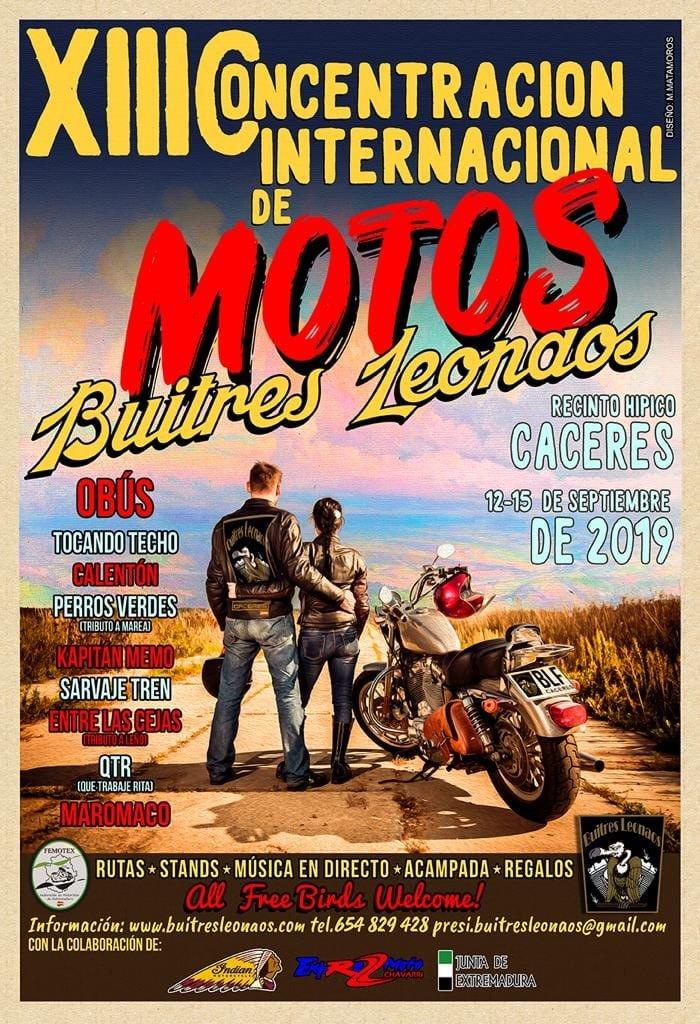 XIII Concentración Internacional de Motos Buitres Leonados