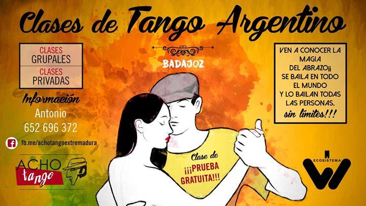 Acho Tango- Prueba gratuita Clase de Tango Argentino