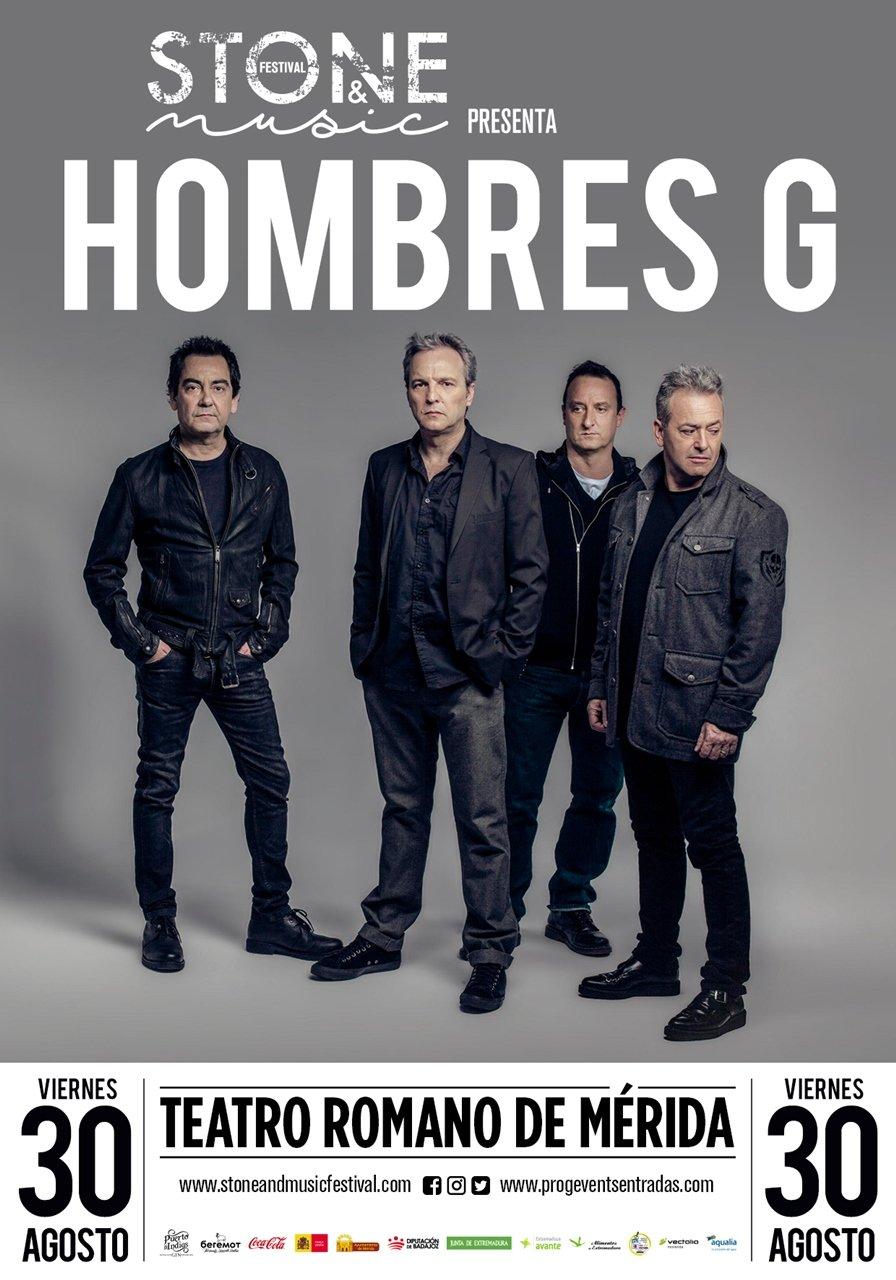 """Stone & Music Festival: """"Hombres G"""""""