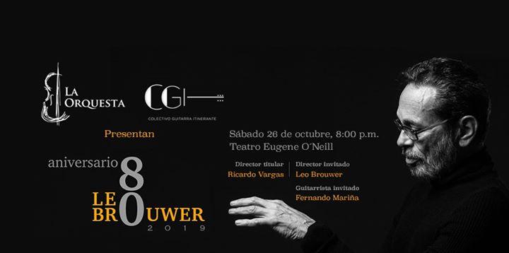 Leo Brouwer 80 Aniversario